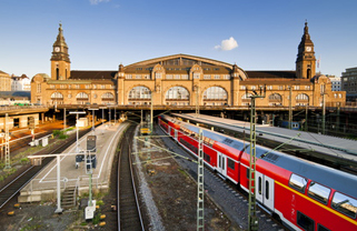 MEET HANSE Tour: Central railway station Hamburg
